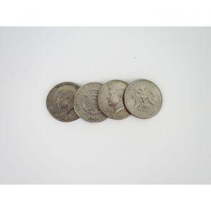 Halbdollar, 4 Stück