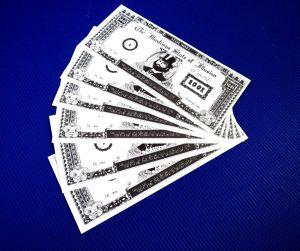 Geldscheinvermehrung