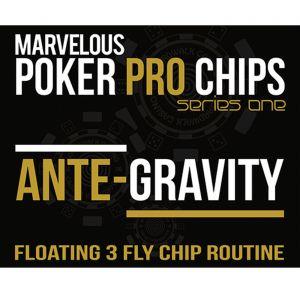 Poker Pro Ante Gravity - Floating 3 Fly Chip Routine by Metthew Wright