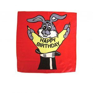 Happy Birthday-Tuch 45 cm