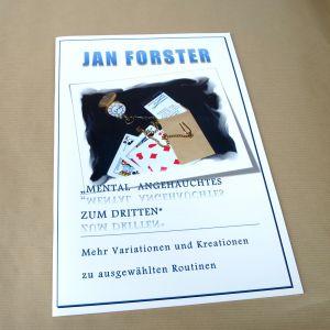 Mental Angehauchtes zum Dritten - Jan Forster