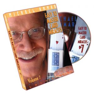 DVD Easy to Master Card Miracles Michael Ammar Einzelband