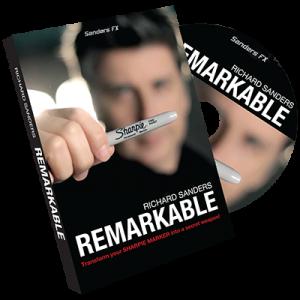 Remarkable - Sharpie incl. DVD - Richard Sanders