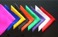 Seidentuch diagonal 45er
