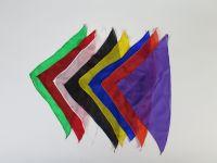 Seidentuch diagonal 30er, 11 Stück
