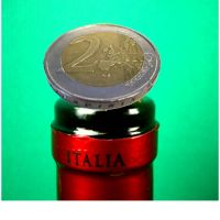 Coin in Bottle, 2-EURO Münze - traditional