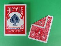 Bicycle Doppelrückenkarten rot/rot