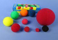 Schwammball, 13 cm, soft, 1 Stück