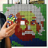 Rubik Art by Gonçalo Gil & Gustavo Sereno