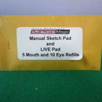 Manual Sketch Pad und Live Pad by Sean Bogunia - Refill