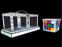 Back of Glassy Cube - Tora