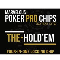 Poker Pro The Hold EM - Four in one Locking Chip by M. Wright