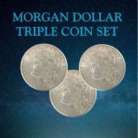 Morgan Dollar - Triple Coin Set