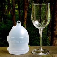 Outdoor Wine Glass by JL Magic