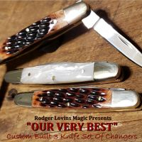 Color Changing Knifes by Rodger Lovins