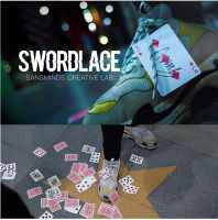 Swordlace White (DVD and Gimmick)