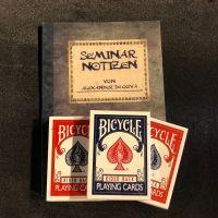 Bicycle Spielkarten - 3 Spiele + Seminarheft