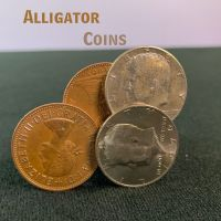 Alligator Coins by Daytona Magic