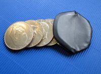 Geldbörse - klein, verdeckter Verschluß