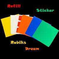 Rubiks Dream - Ersatzsticker -