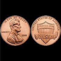 Amerikanischer Cent - 4 Stück