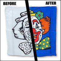 Happy / Sad Clown Silk Set 45 cm Magic by Gosh