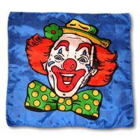 Motivtuch Clown 100 x 100 cm