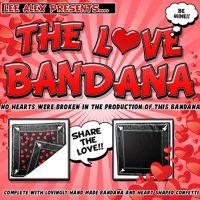 LOVE BANDANA by Lee Alex