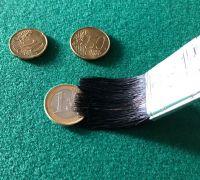 Münzen Pinsel