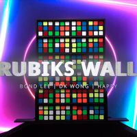 RUBIKS WALL Komplett Set by Bond Lee