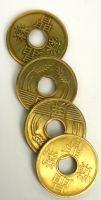 China Münzen Wanderung