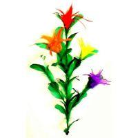 Stockblume mit Stock - 3 Blüten