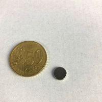 Magnet  Ø 10 mm - Höhe 3 mm