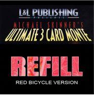 Ultimate 3 Card Monte, Nachfüllpack - nur Karten -