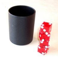 Dice Stacking Becher - Kunststoff - ohne Würfel