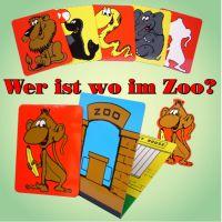 Wer ist wo im Zoo