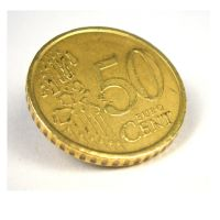 Magnetmünze 50 Cent