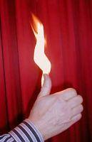 Brennender Daumen