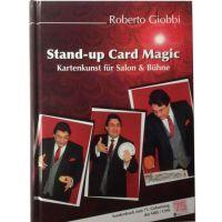 Stand Up Card Magic für Salon und Bühne - Roberto Giobbi