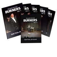 BURNERS Vol. 1 - 6 komplett incl. 6 Bicycle Spiele