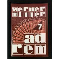Ad Rem Vol. 7 - Werner Miller