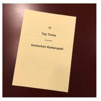 Elf wunderbare Tricks mit dem Konischen Kartenspiel