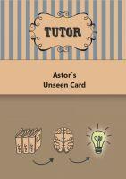 Astor's Unseen Cards