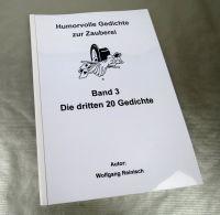 Humorvolle Gedichte zur Zauberei, Bd. 3