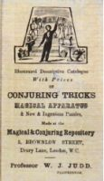 Catalogue of Conjuring Tricks