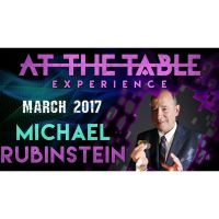 Download: At The Table Live Lecture - Michael Rubinstein March 1st 2017