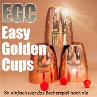 Easy Golden Cups by Fokx Magic