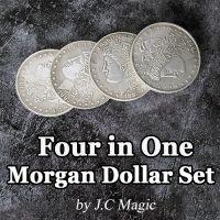 Morgan Dollar Set Four in One