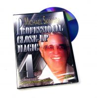 DVD Professionell Close Up Magic - Michael Skinner - Vol. 4