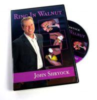 DVD Ring in Walnut